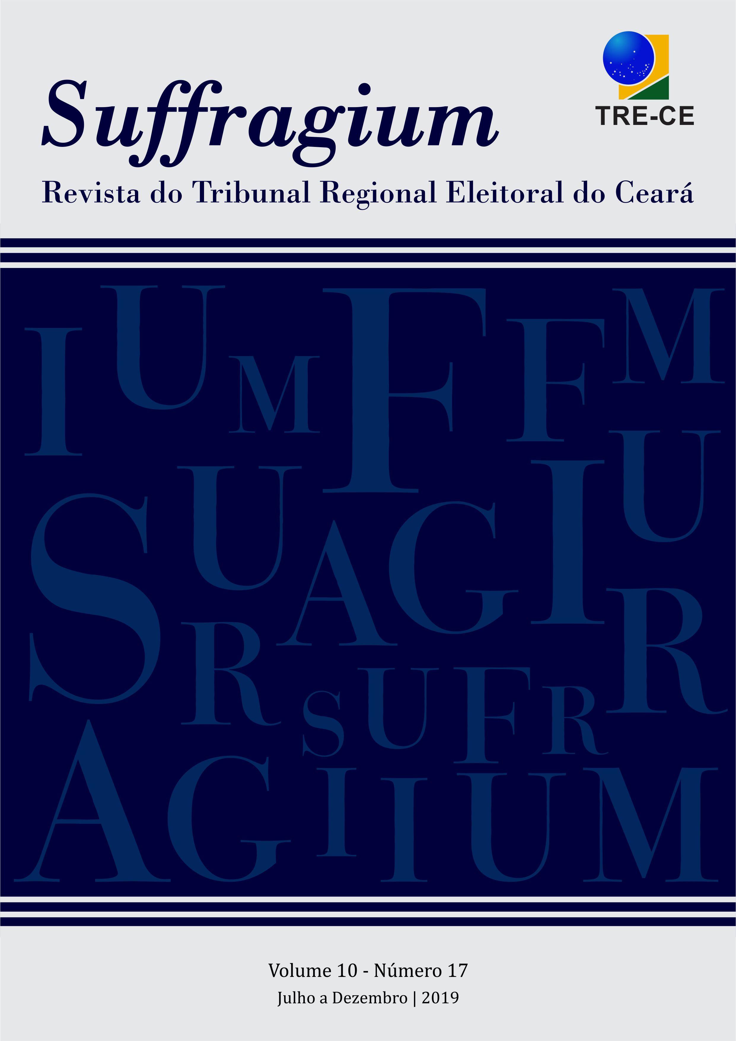 Visualizar v. 10 n. 17 (2019): Suffragium - Revista do Tribunal Regional Eleitoral do Ceará
