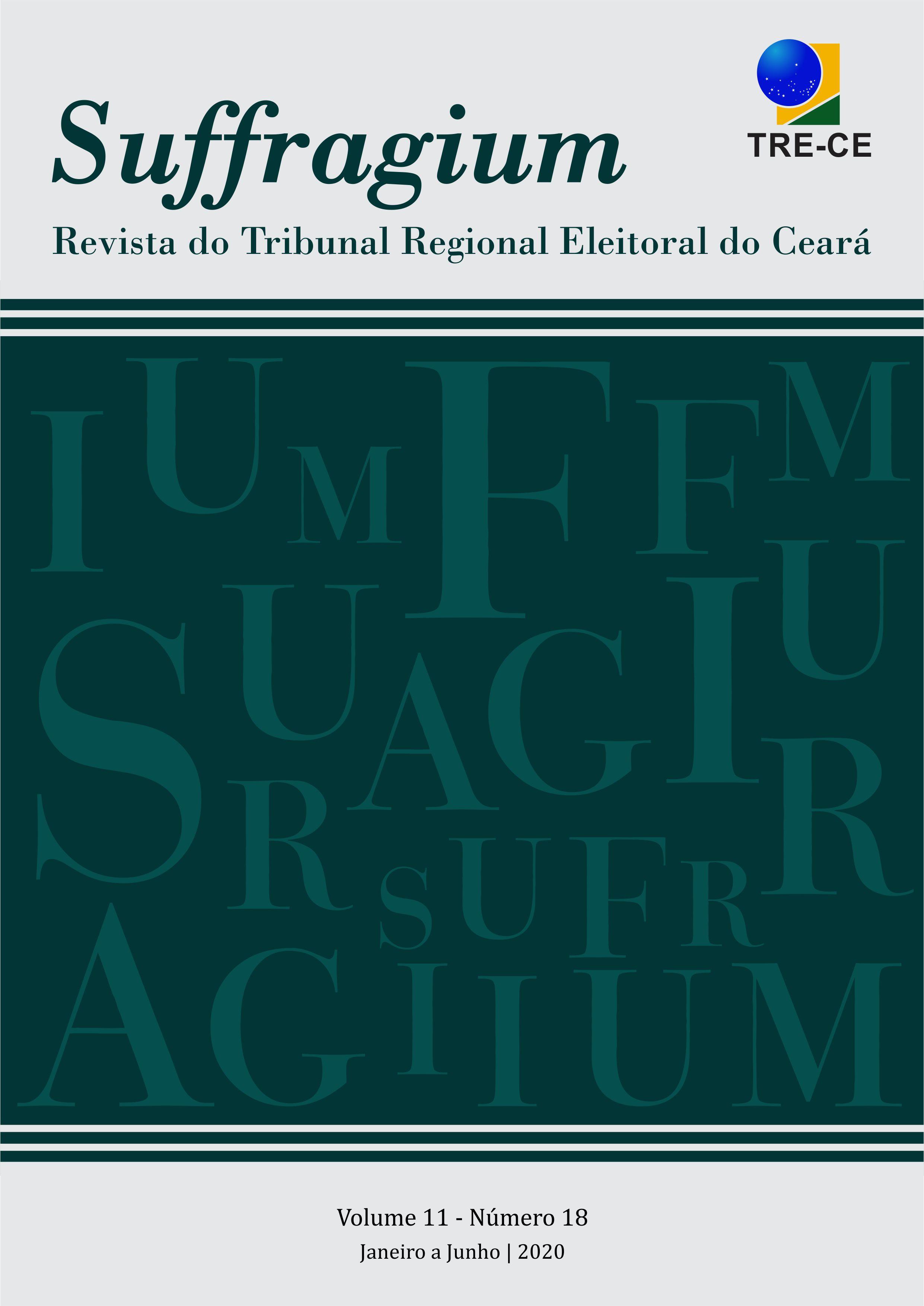 Visualizar v. 11 n. 18 (2020): Suffragium - Revista do Tribunal Regional Eleitoral do Ceará