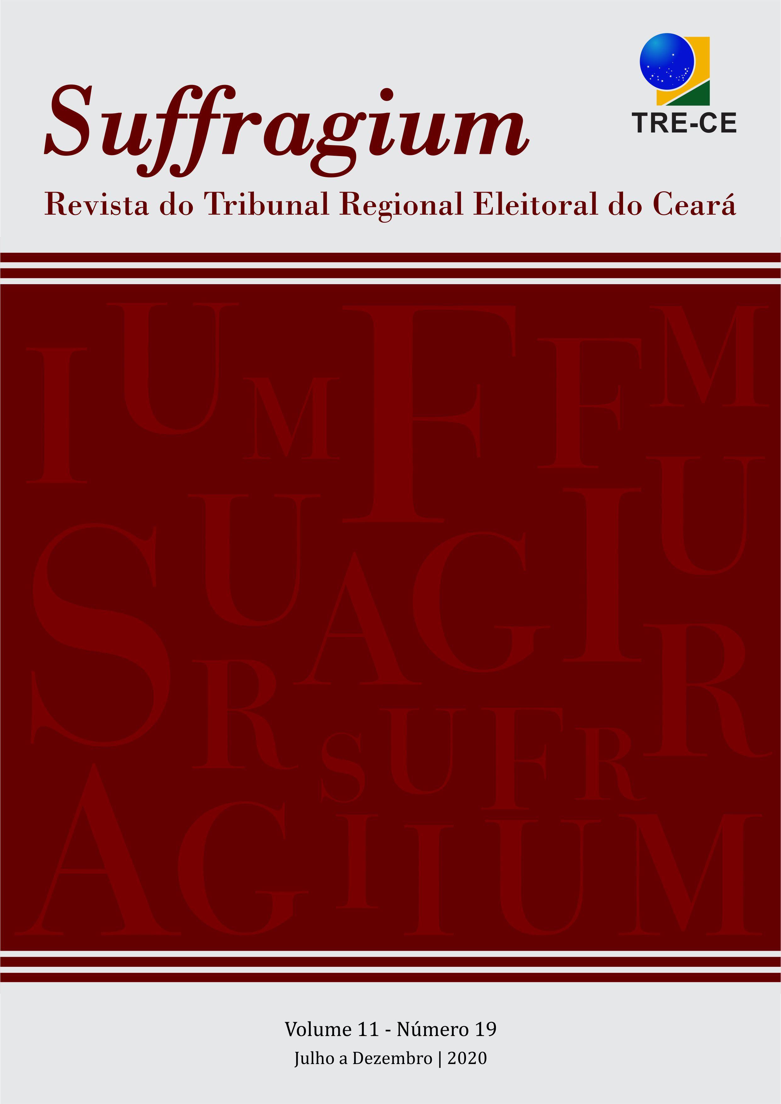 Visualizar v. 11 n. 19 (2020): Suffragium - Revista do Tribunal Regional Eleitoral do Ceará